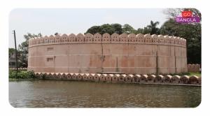 মুঘল স্থাপত্যের নিদর্শন ইদ্রাকপুর কেল্লা