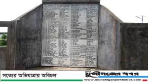 আজ গজারিয়া গণহত্যা দিবস:ব্রাশফায়ারে ৩৬০ জনের প্রাণহানী......